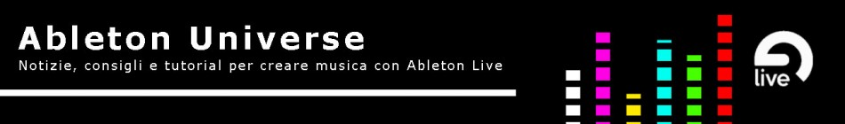 Ableton Universe Banner