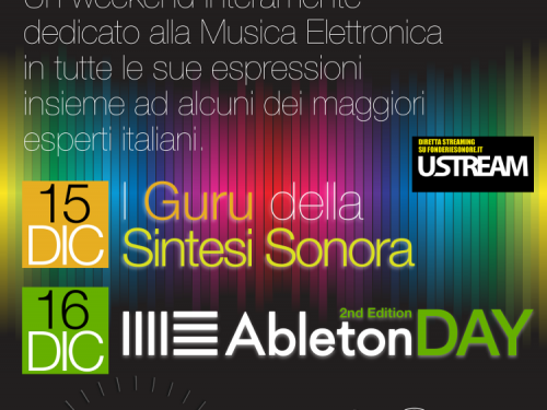 Electronic Music Conference @ Fonderie Sonore Roma