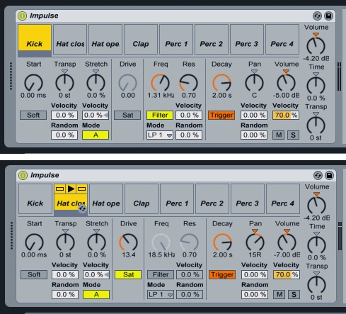 how to make a drum kit ableton live