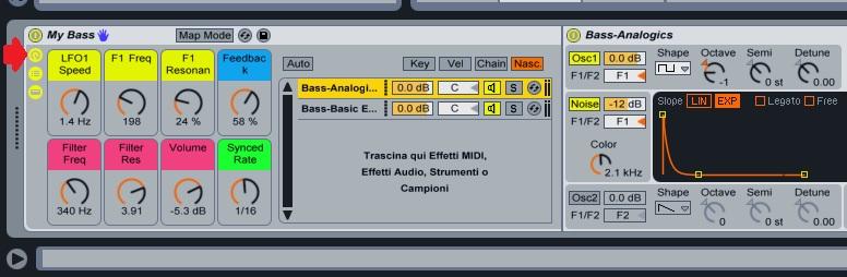 Instrument Rack - Macro