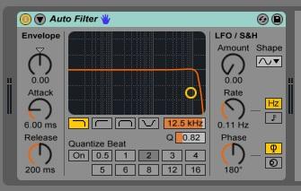 Auto Filter - new - Ableton Universe