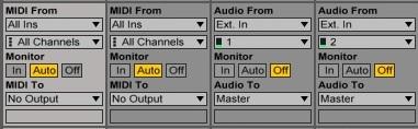 I-O Track - Ableton Universe