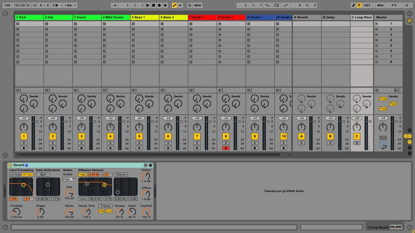 Ableton Universe - LiveSetup