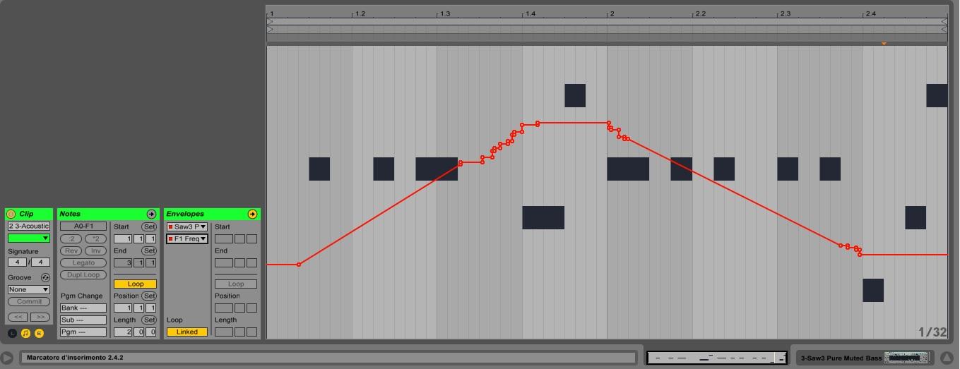 Clip Automation - Ableton Universe