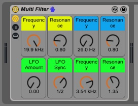 Multi Filter - AER Final Result