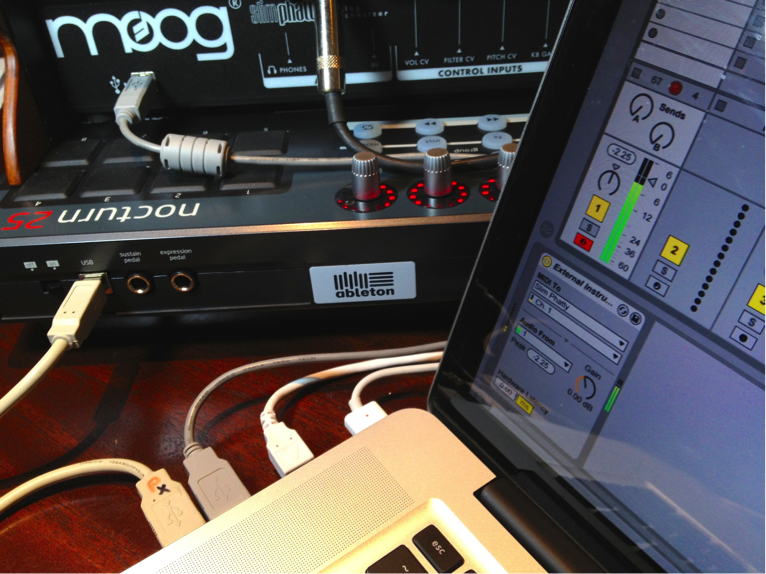 External Instruments & Ableton Live