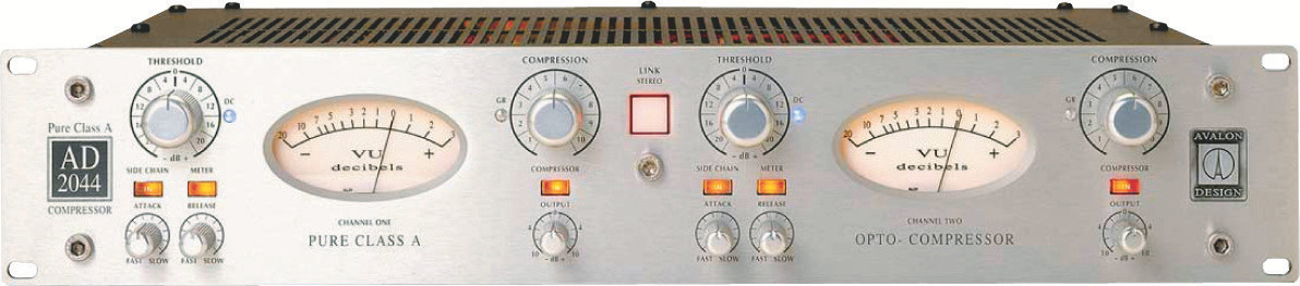 Avalon AD2044 compressor with Sidechain