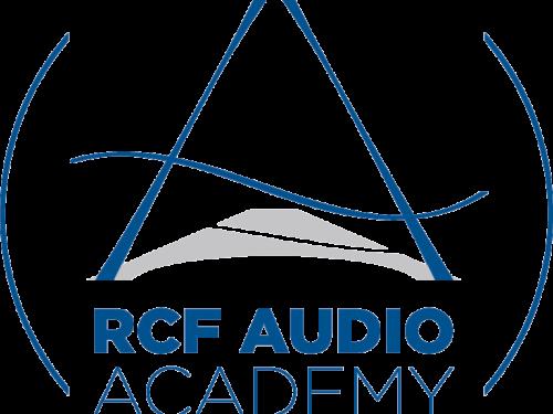RCF Audio Academy approda on line